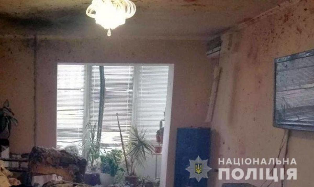 УМар'їнці стався вибух у багатоквартирному будинку / фото police.dn.ua