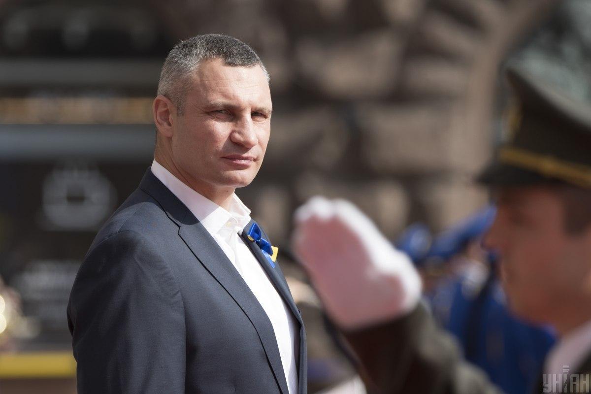 Кличко провел очередной брифинг / фото УНИАН
