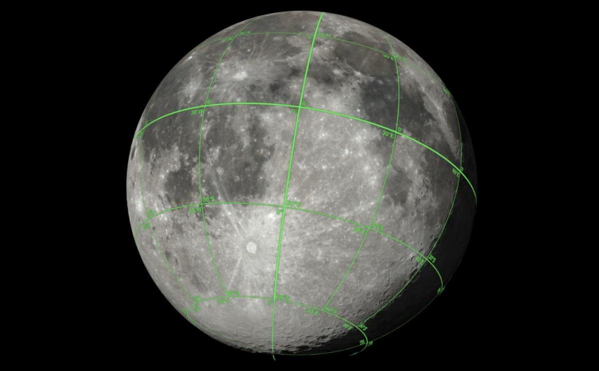 На борту LRO встановлена камера, яка змогла зберегти майже всю видиму область Місяця / скріншот