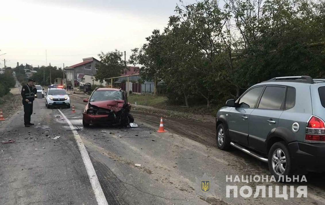 Серед постраждалих в аварії – двоє дітей / od.npu.gov.ua