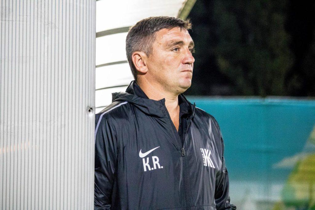 Руслан Костишин, згідно з регламентом, не пропускатиме найближчий матч / фото: ФК Колос