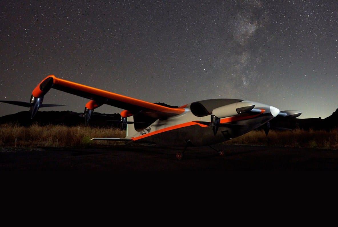 Самолет способен развивать скорость до 322 километров в час / фото: Kitty Hawk