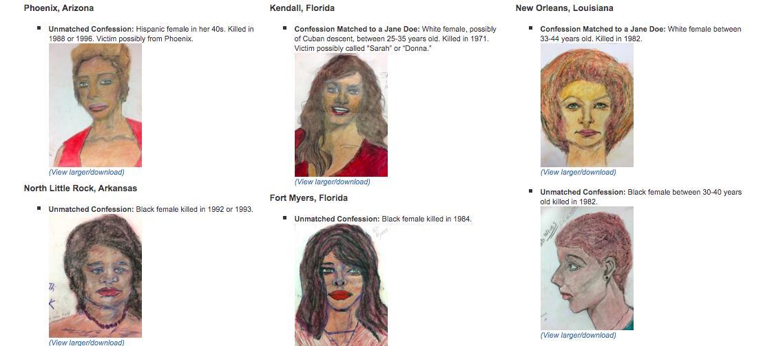 Вбивця малював своїх жертв / esquire.ru