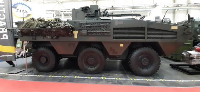 Новый БТР может быть командно-штабным или ремонтно-эвакуационным автомобилем / segodnya.ua