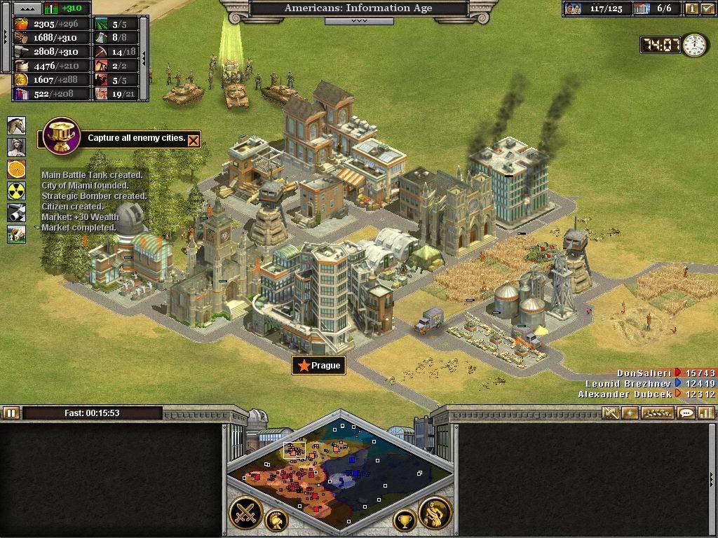 Пенсионеры, игравшиев стратегию Rise of Nations, показалиболее высокие результаты в тестах на многозадачность, чем их не играющие сверстники / Скриншот игрового процесса Rise of Nations, gamedeus.ru