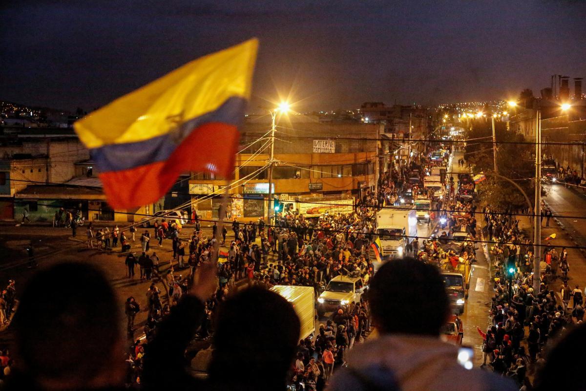 Протесты в Эквадоре / REUTERS