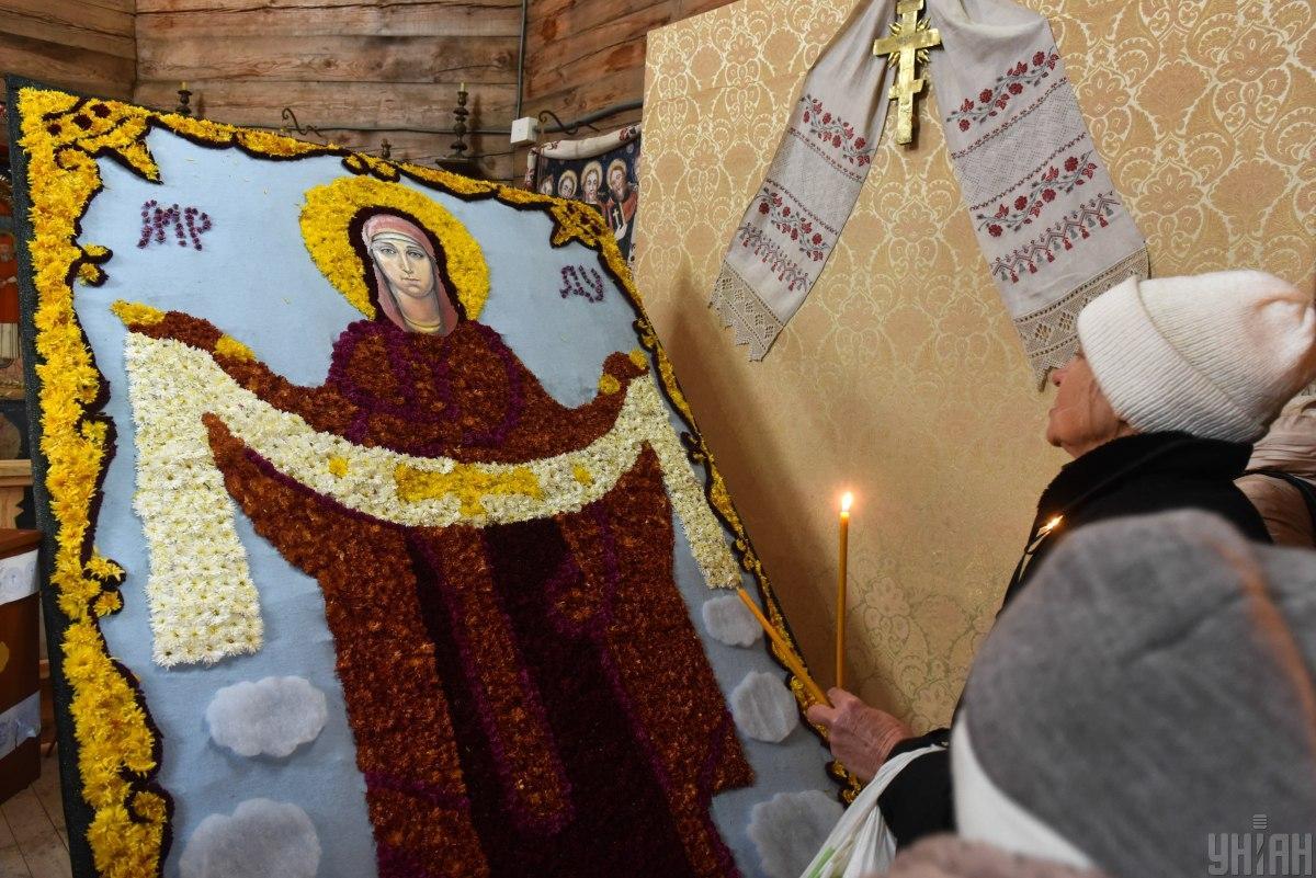 14 октября - Покров Пресвятой Богородицы / фото УНИАН