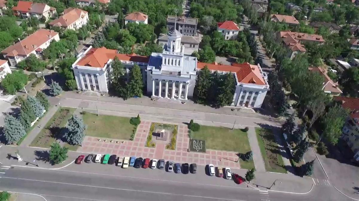 Центр Нової Каховки / Фото novakahovka.city
