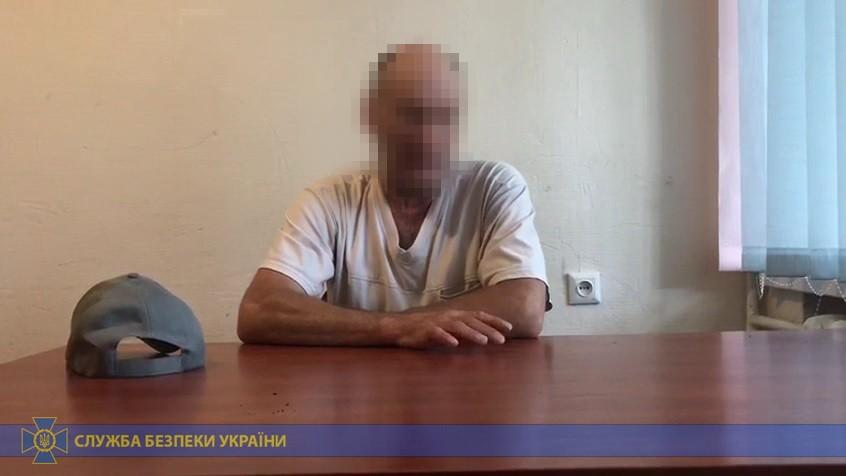 The man says he worked on repairing damaged military hardware / Photo from SBU press service