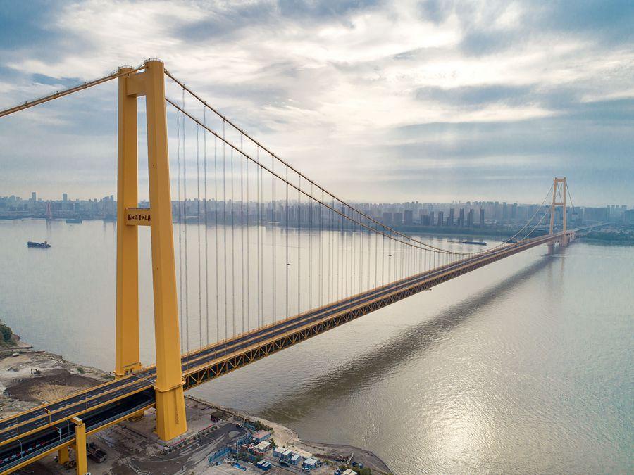 Загальна довжина моста становить 4,13 кілометра / фото: Сіньхуа