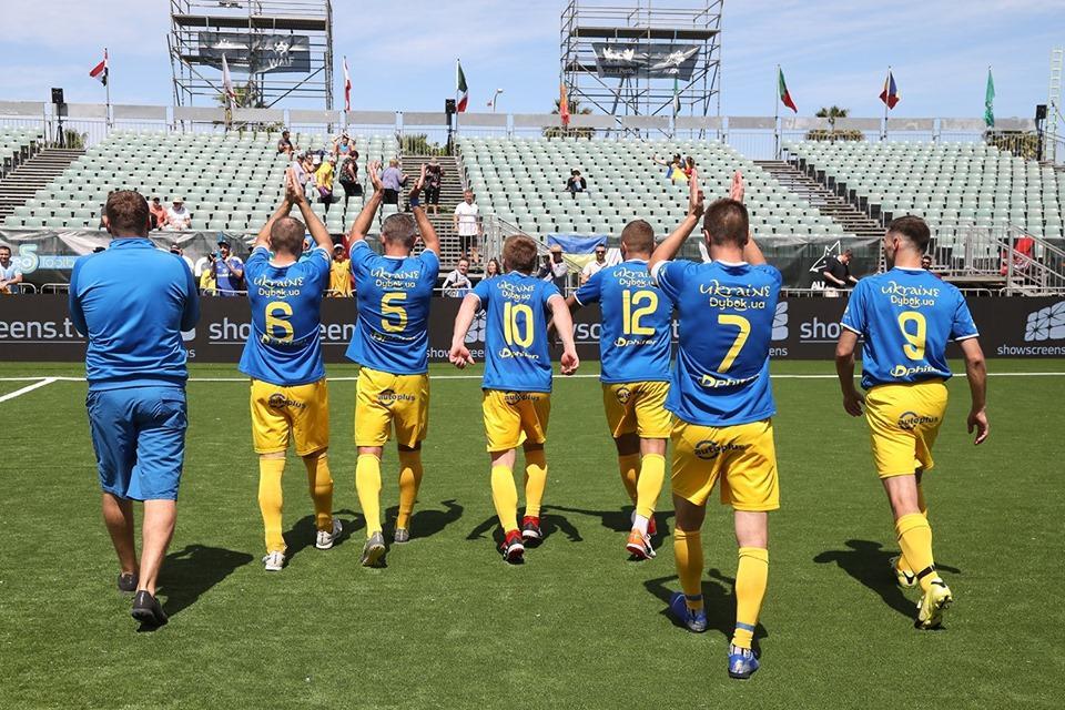 Українці пропустили три м'ячі / фото: facebook.com/ukraineminifootball