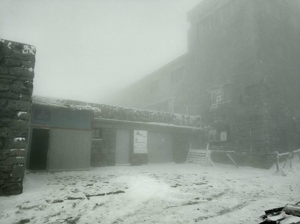 Карпаты засыпает снегом / www.facebook.com/chornogora.rescue112