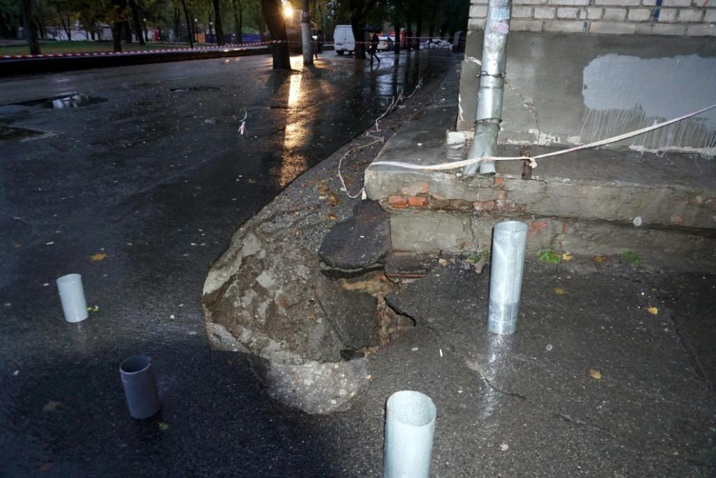 Из аварийного общежития отселили 238 студентов / фото ГУ ГСЧС в Днепропетровской области