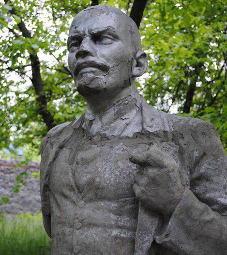 Такий вигляд нібито раніше мав пам'ятник / фото: zabor.zp.ua