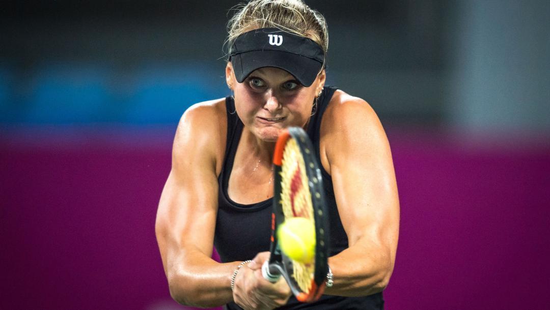 Катерина Козлова проиграла в двух сетах / фото: wtatennis.com