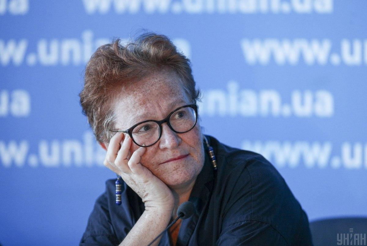 Российская журналистка, фотограф и волонтер Виктория Ивлева / фото УНИАН