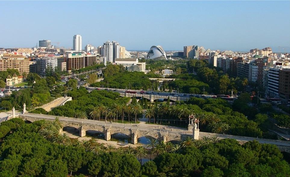 Валенсія - дуже зелене місто / Фото wikipedia.org
