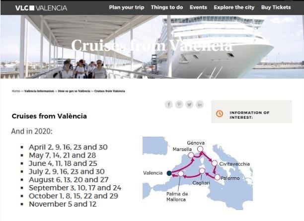 Морські круїзи у Валенсії / Фото visitvalencia.com