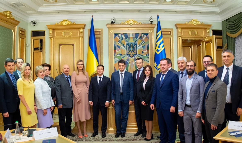Президент Украины поздравил членов ЦИК с избранием / фото president.gov.ua