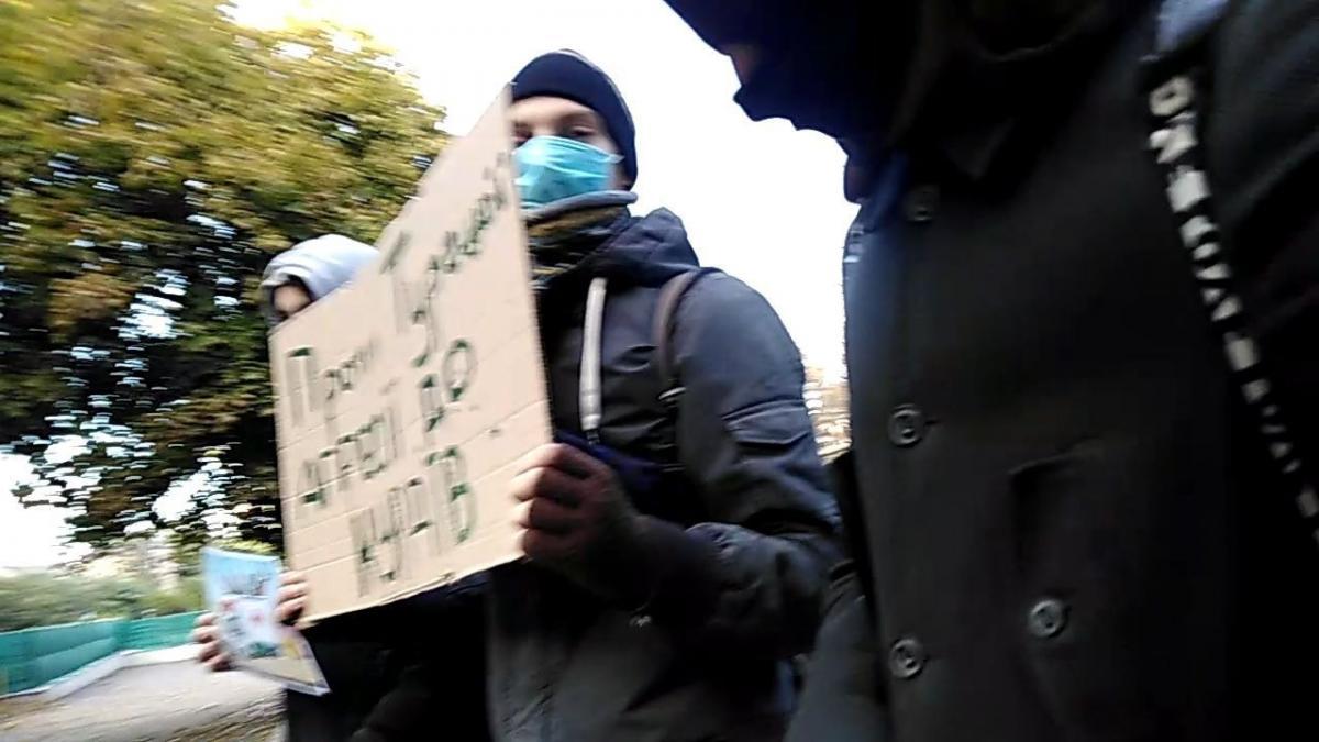 Акція проходила біля генконсульства Туреччини в Одесі / facebook.com/Nihilist