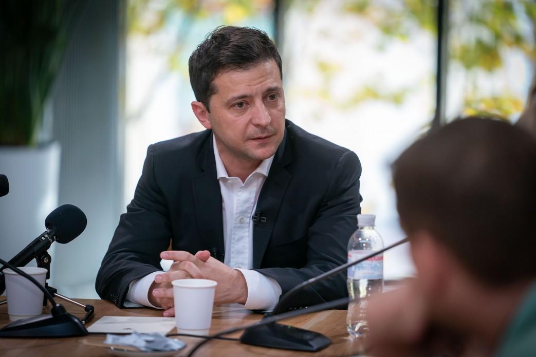 Зеленський прокоментував жарт Труханова  / фото www.president.gov.ua