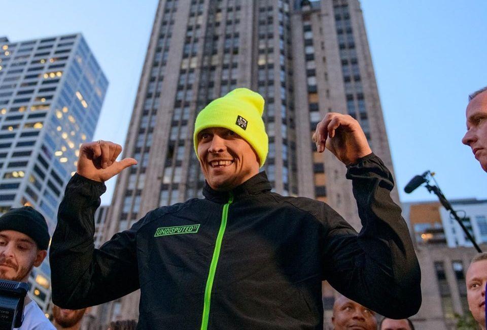 Олександр Усик хоче стати абсолютним чемпіоном світу у надважкій вазі / K2 Promotions
