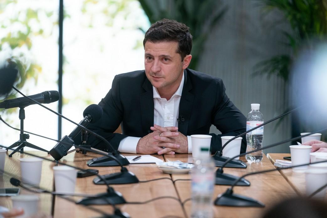 Зеленский поддерживает разделение функций мэра Киева и председателя КГГА / president.gov.ua