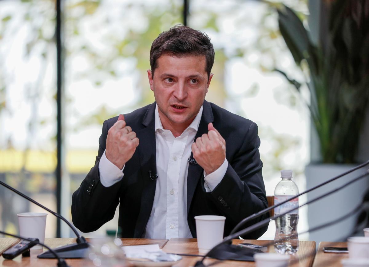 Володимир Зеленський/ фото REUTERS