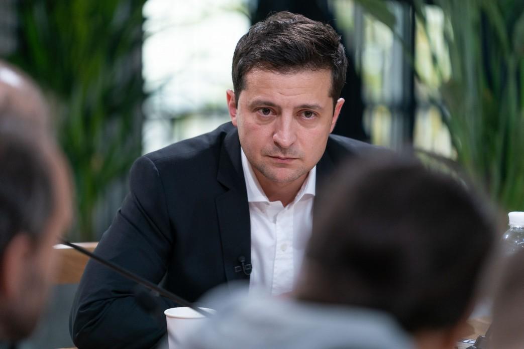 Зеленский отметил, что сайт можно закрыть только в случае нарушения законодательства / фото president.gov.ua