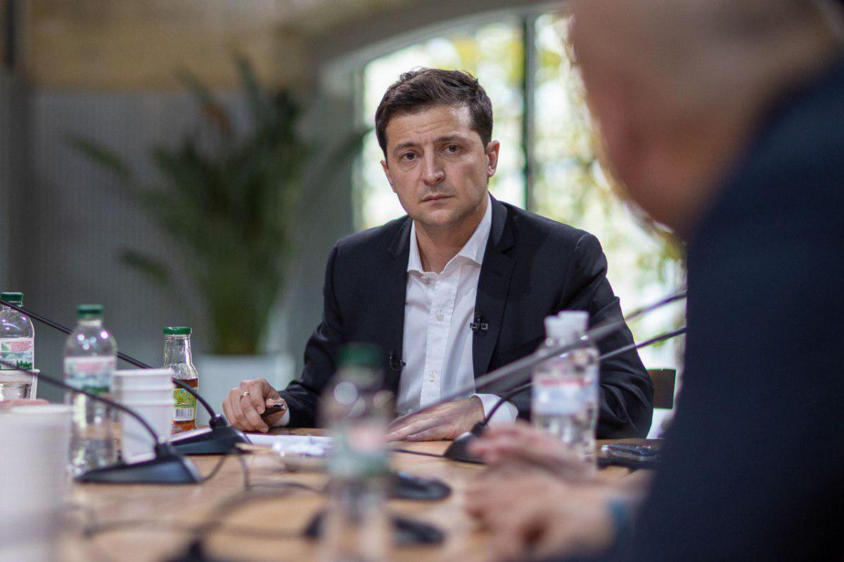 Зеленський пообіцяв розібратися зі скандалом в ГБР / president.gov.ua