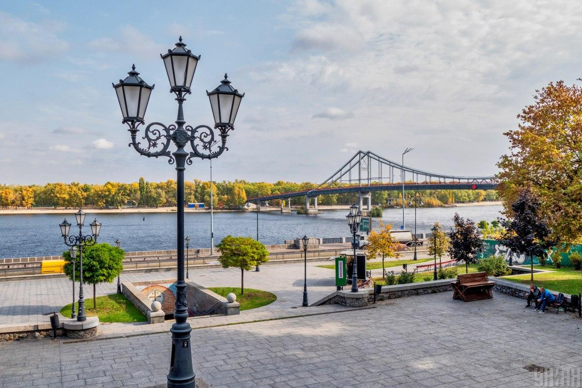 Погода в Киеве установила новый рекорд / Фото УНИАН