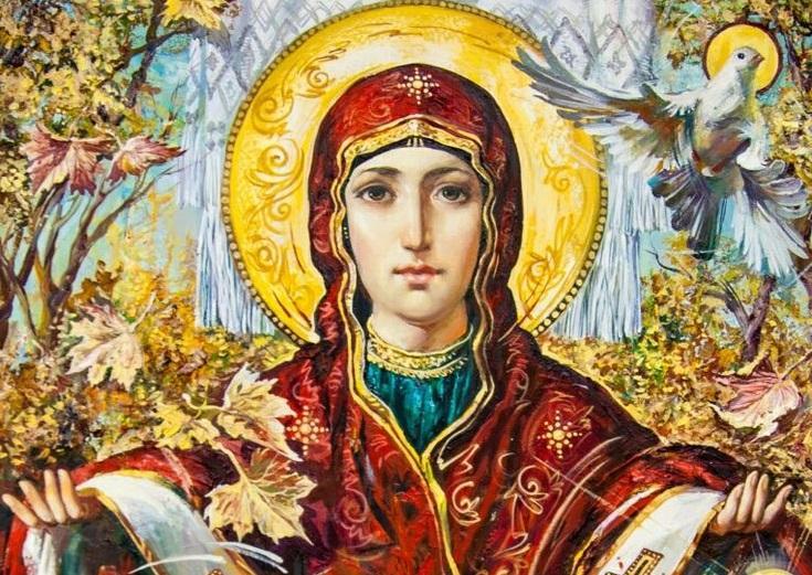 14 октября христиане почитают заступницучеловечества - Богоматерь / фото: br.pinterest.com