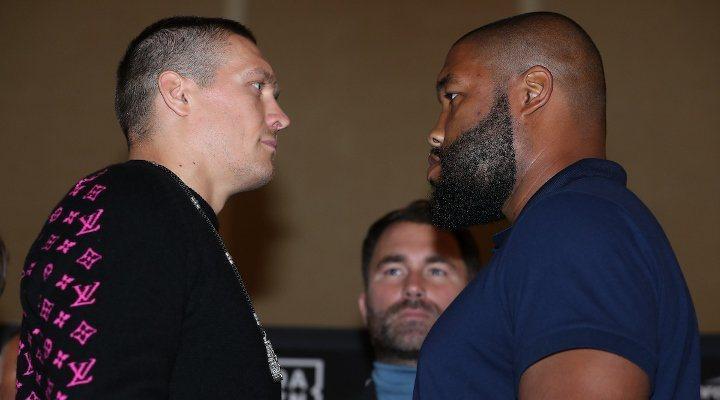 Усик і Візерспун вийдуть на ринг 12 жовтня / фото: BoxingScene