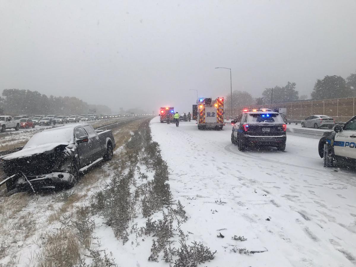 Колорадо засыпало снегом / twitter.com/WheatRidgePD