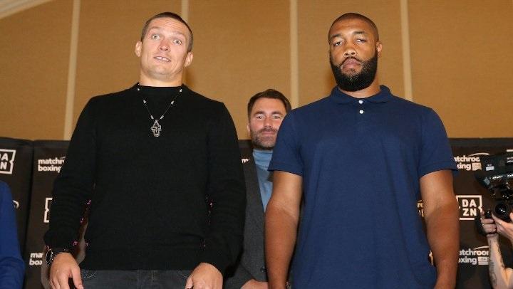 Візерспун став суперником Усика в останній момент / фото: BoxingScene
