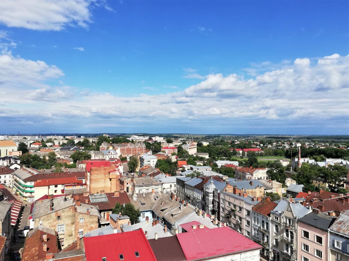 Вид с ратуши Дрогобыча / Фото Марина Григоренко
