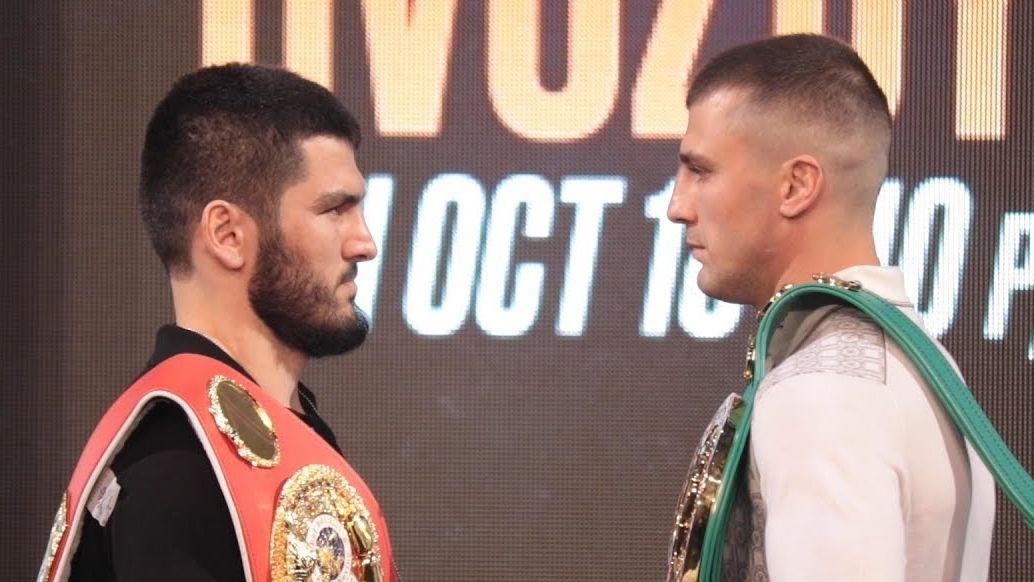 Олександр Гвоздик і Артур Бетербієв проведуть бій за два пояси / фото: FightHubTV/YouTube
