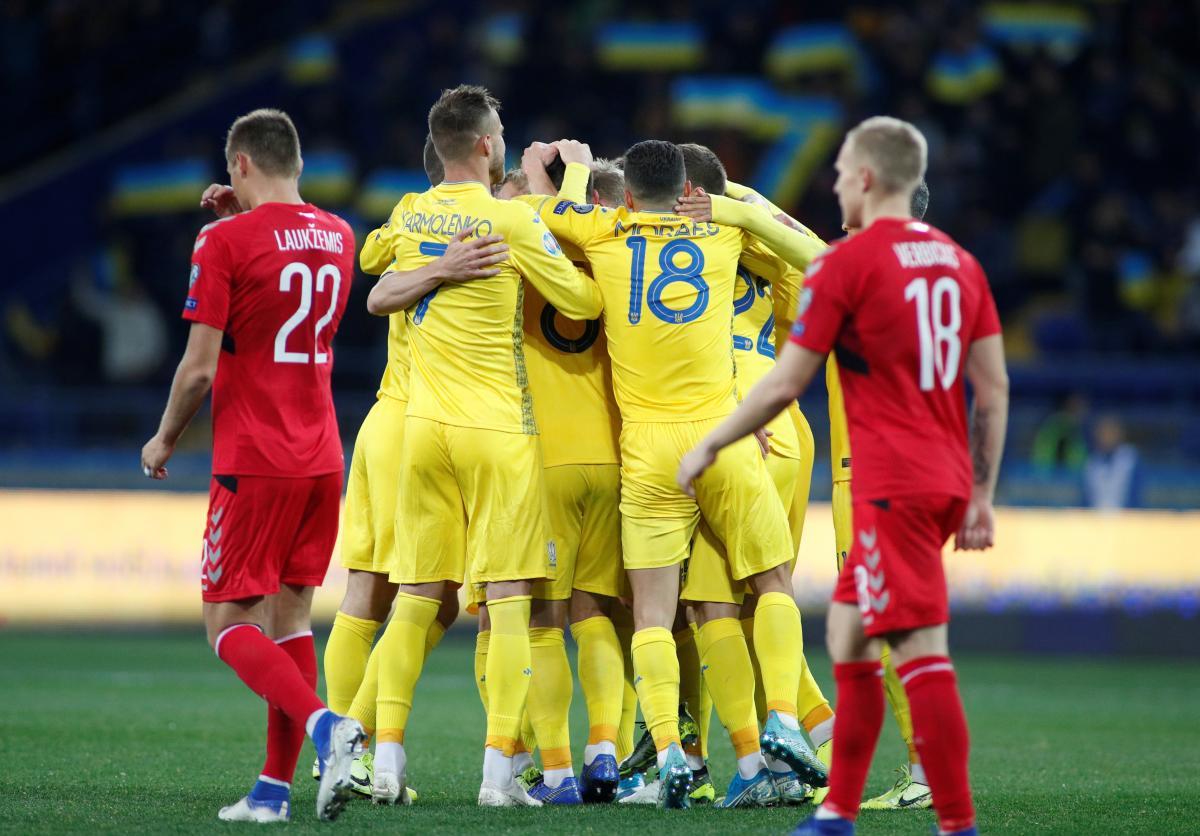 Украина - Литва / REUTERS