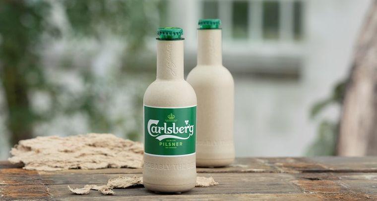 Carlsberg обіцяє продовжувати працювати над розробкою пляшки без використання полімерів/ Фото: Carlsberg