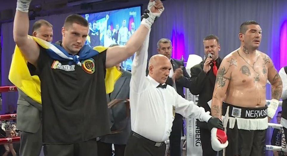 Владислав Сіренко в дванадцятий раз в кар'єрі виграв нокаутом / фото: скріншот