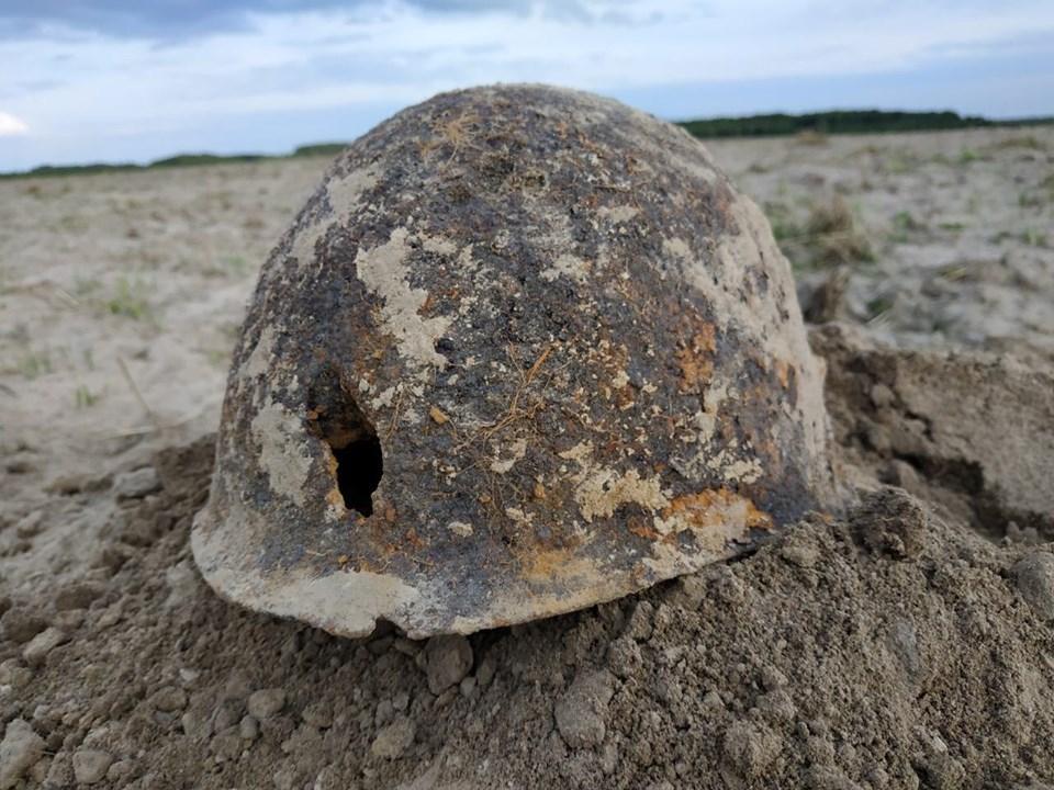 """У воїнів знайшли каску і ложку / фото історико-патріотичного об`єднання """"Пошук"""""""
