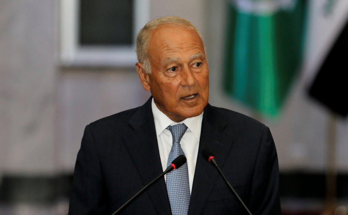 Генеральний секретар Ліги арабських держав Ахмед Абуль Гейт / REUTERS