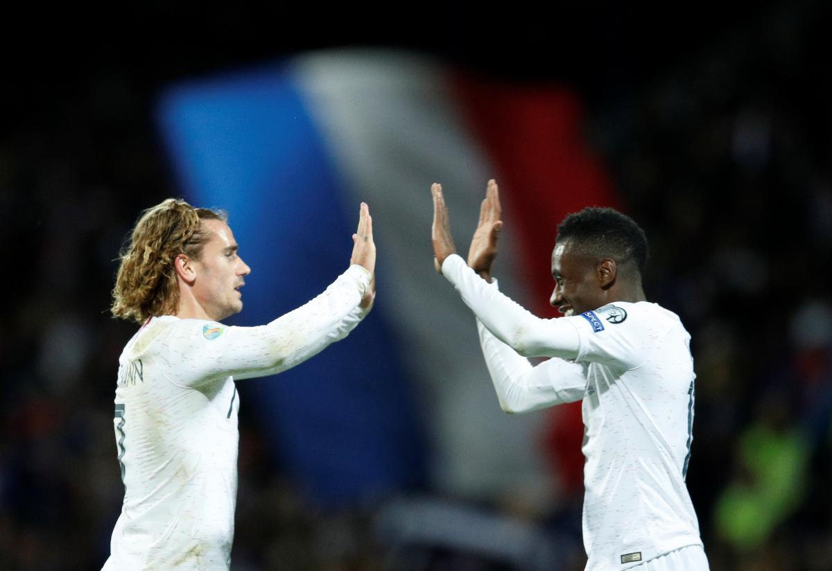 Гравці збірної Франції / REUTERS
