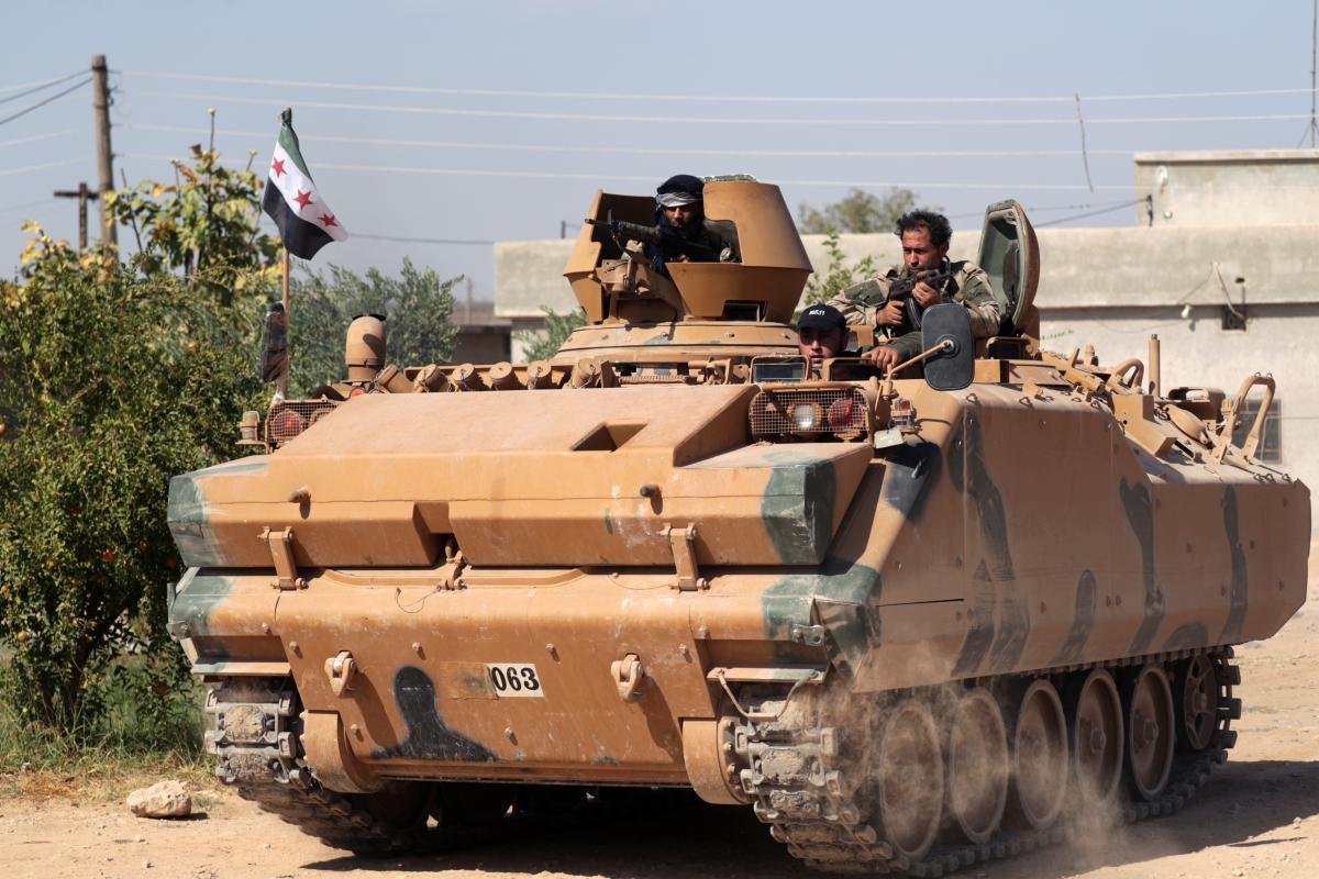 Эскалация боевых действий в Сирии может спровоцировать в регионе гуманитарную катастрофу / REUTERS