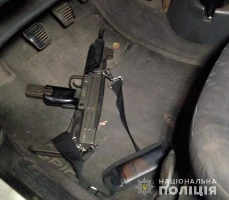 Открыто уголовное производство по статье о незаконном обращении с оружием / полиция Киева