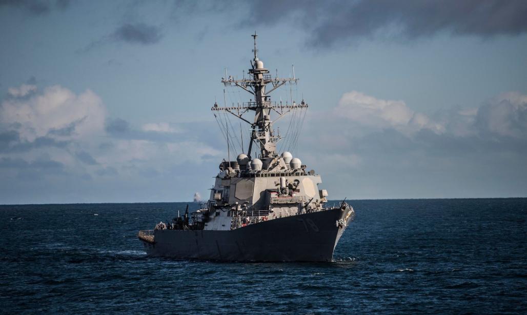 Основное вооружение эсминца – 90 ракетных пусковых установок / c6f.navy.mil
