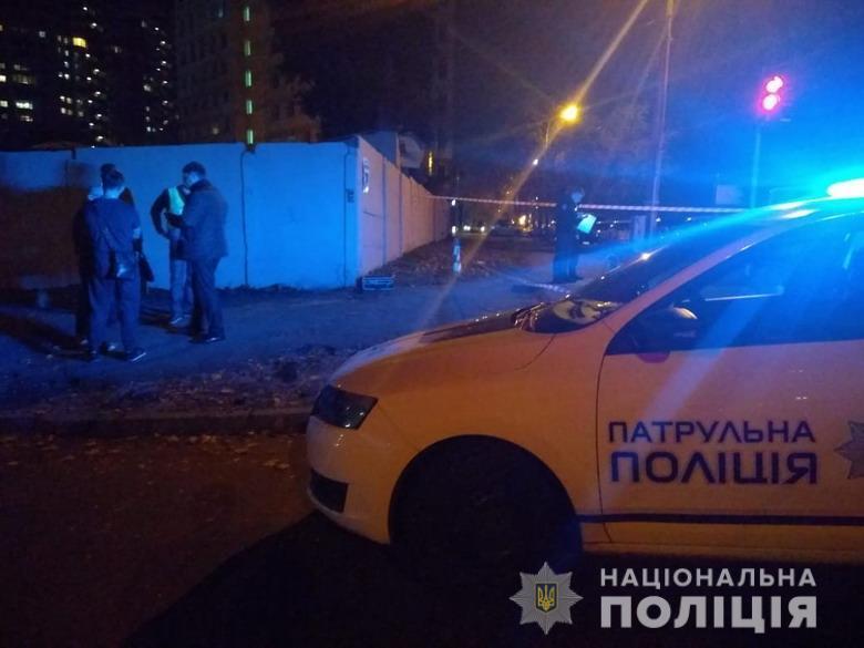 На місці злочину правоохоронці виявили гільзи та поспілкувалися зі свідками / фото НПУ