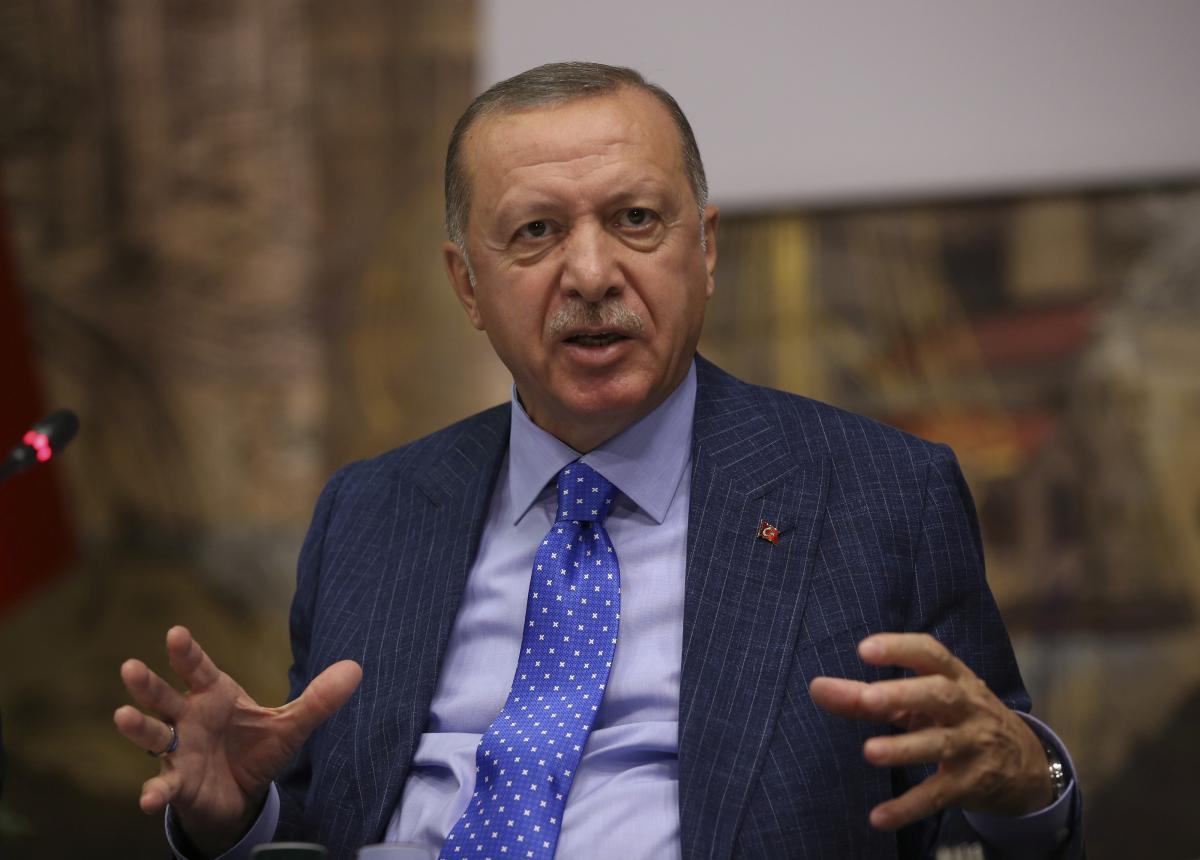 РеджепТайип Эрдоган / REUTERS