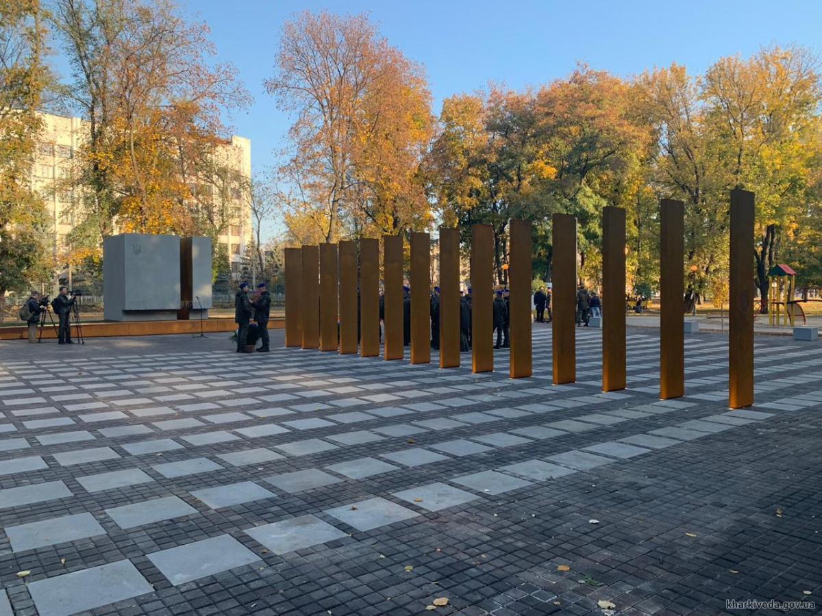 У Харкові відкрили пам'ятник захисникам України / фотоХарківська обласна державна адміністрація