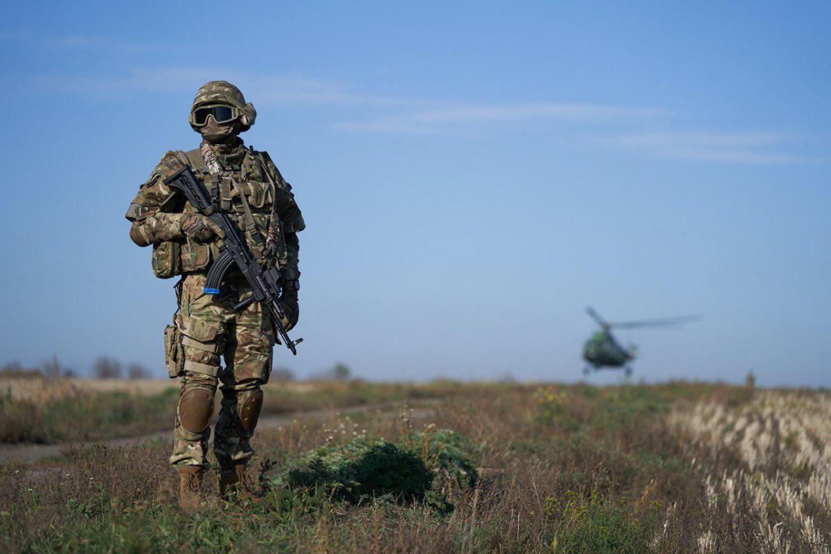 Стратегия военной безопасности Украины учитывает риски военной угрозы со стороны России /фото president.gov.ua